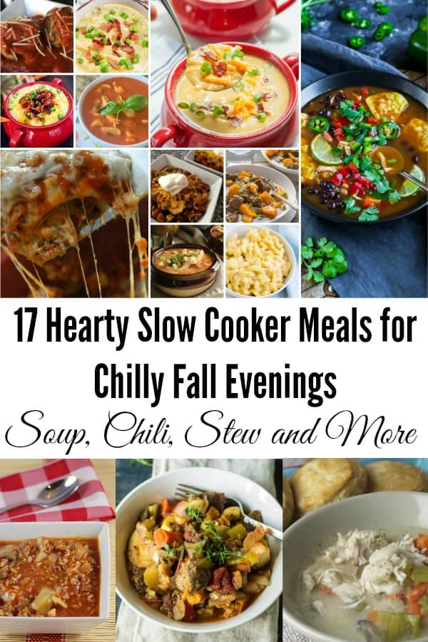 Hearty Slow Cooker Meals