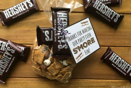 Hershey S'mores Party Favors Feature