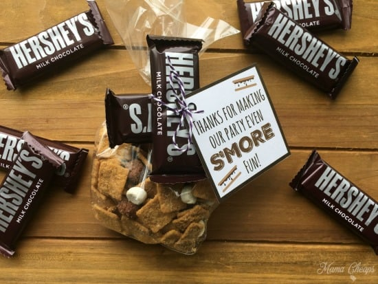 Hershey S'mores Party Favors