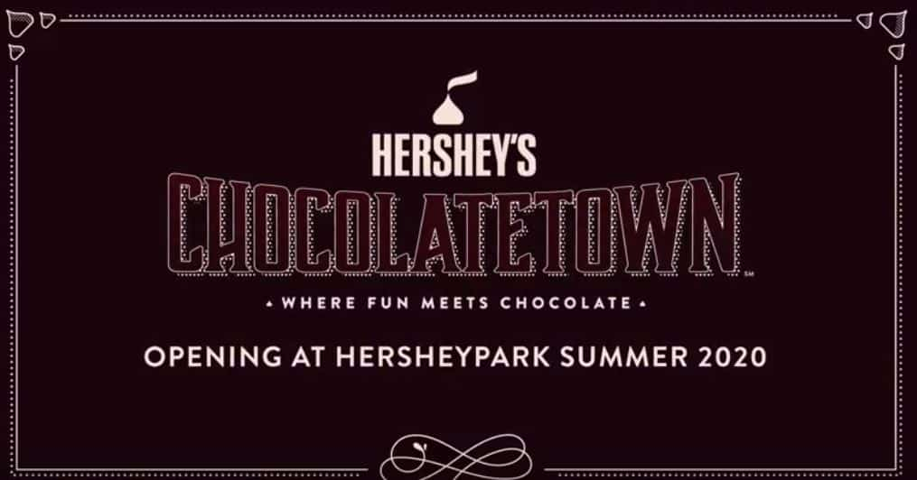 Hersheypark Chocolatetown Announcement