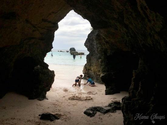 Horseshoe Bay Beach Caves