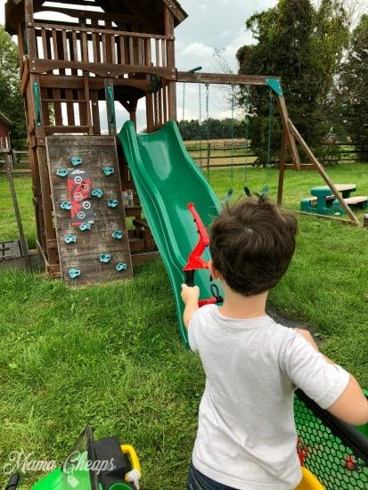 Landon Archery Practice