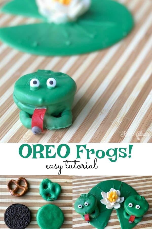 OREO Frogs Easy Tutorial