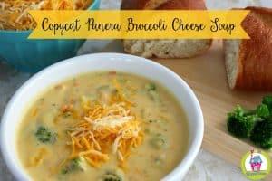 Copycat Panera Broccoli Cheese Soup Recipe