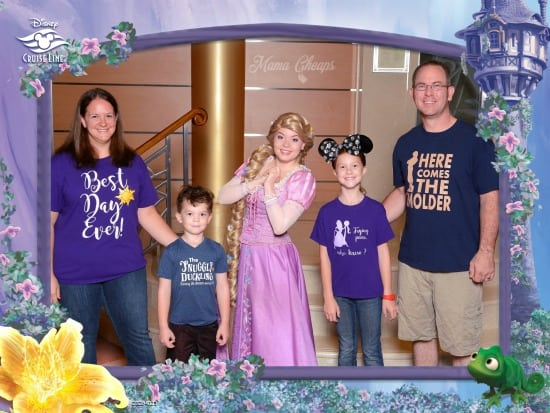 Rapunzel Disney Cruise