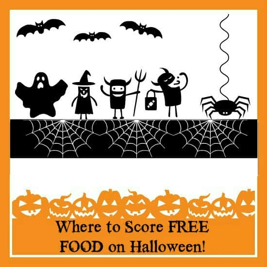 Where to Score FREE FOOD on Halloween!
