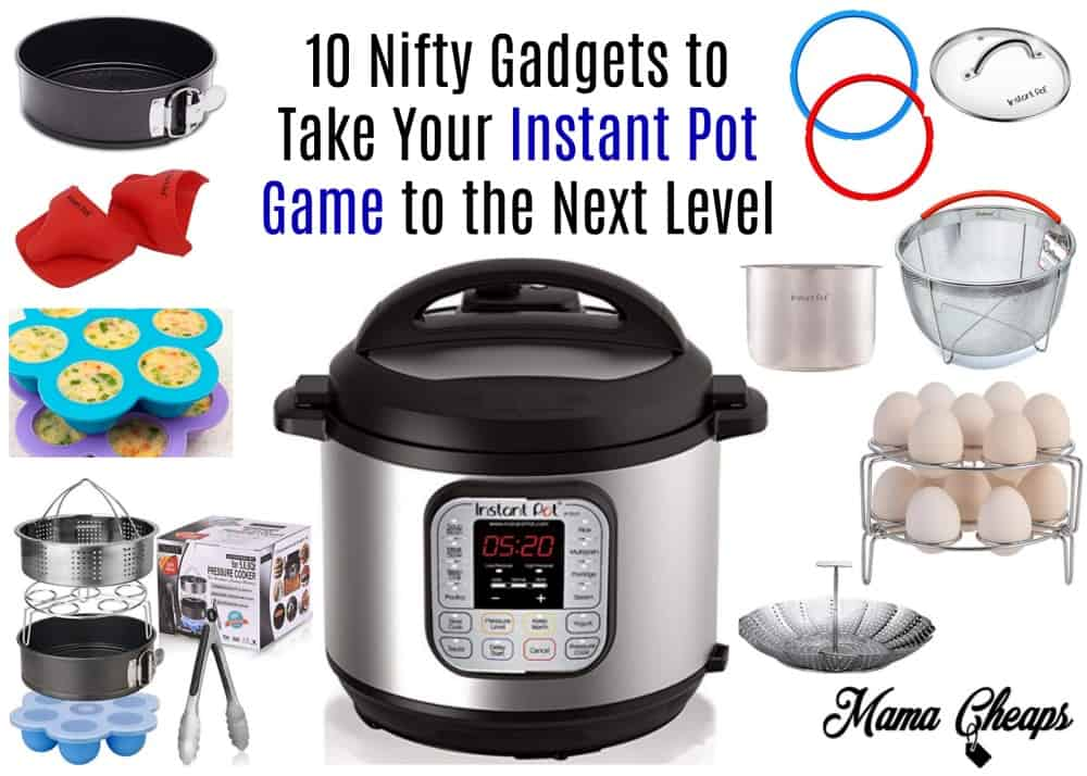 10 Nifty Gadgets to Take Your Instant Pot Game to the Next Level