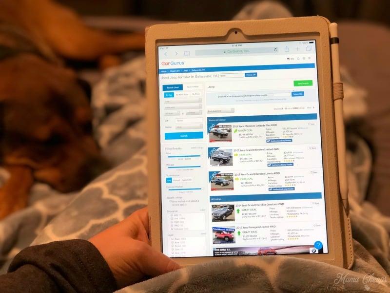 Car Gurus Tablet 1