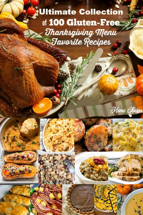 Gluten Free Thanksgiving Foods