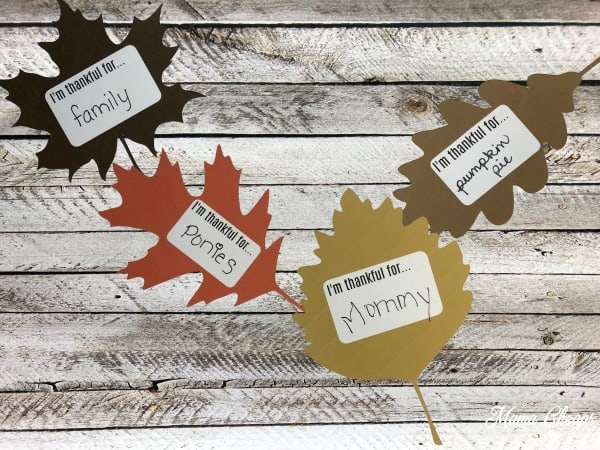 Thankful Garland Printables