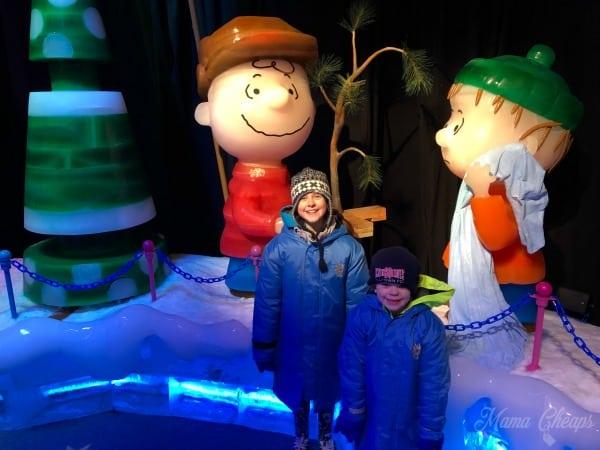 Charlie Brown Christmas Ice