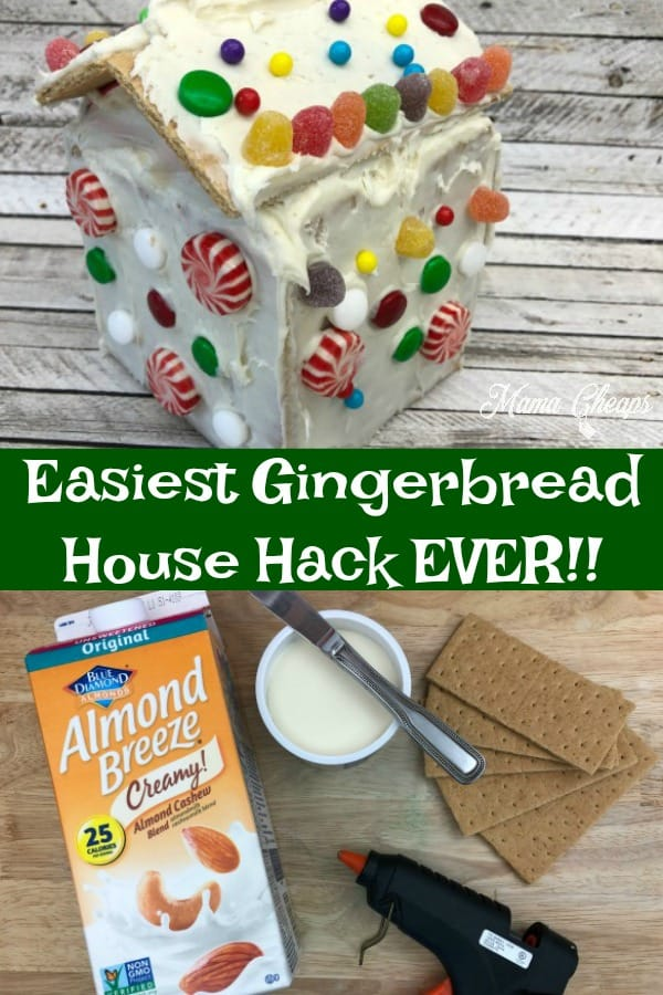 Easiest Gingerbread House Hack Ever