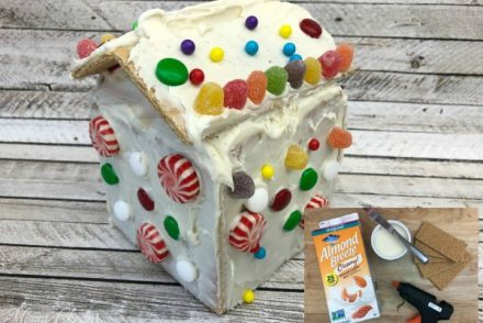 Easy Gingerbread House Hack