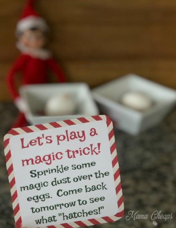 Elf Egg Magic Tricks Paper