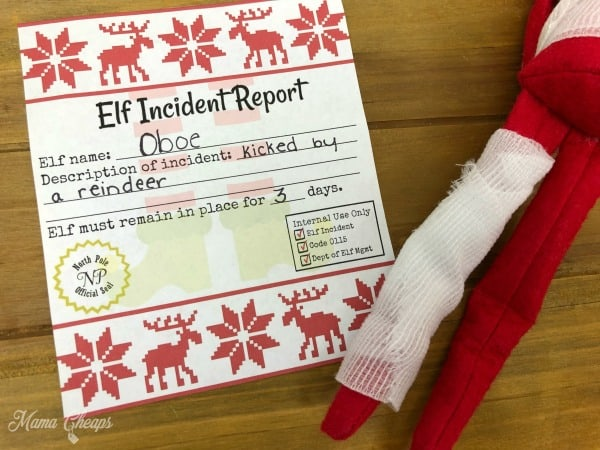 Elf Incident Report