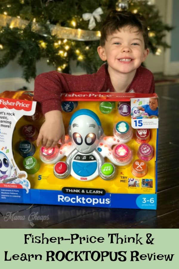 Fisher-Price Think & Learn ROCKTOPUS Review
