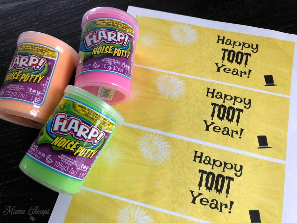 Flarp Party Favors