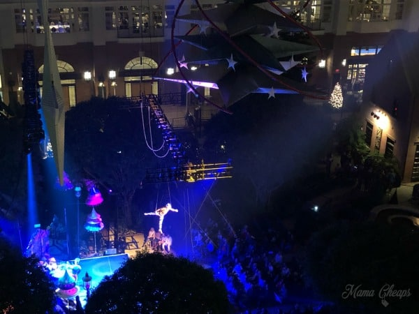 Gaylord National Cirque Dreams Unwrapped