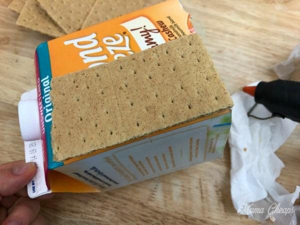 Graham Crackers on Carton