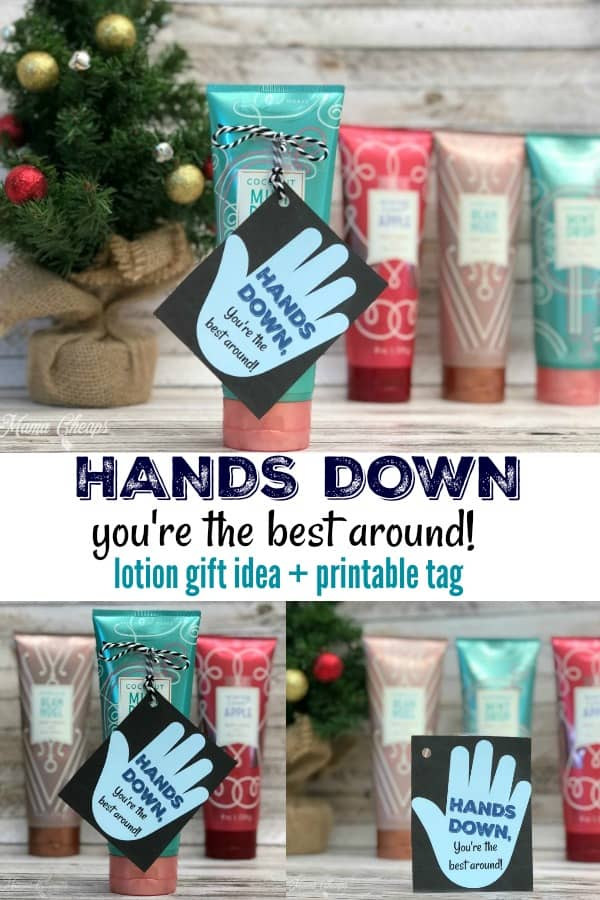 Hands Down Lotion Gift Idea
