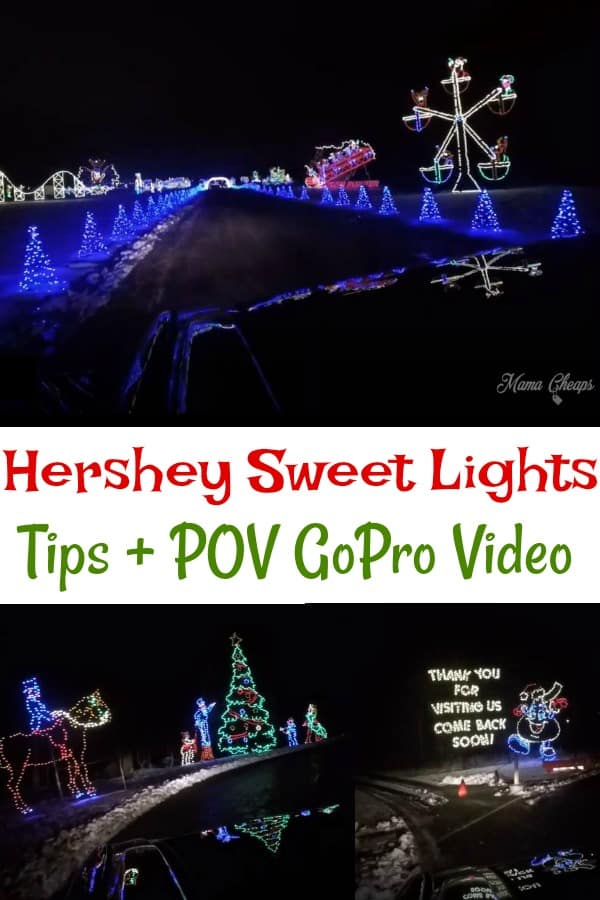Hershey Sweet Lights Tips