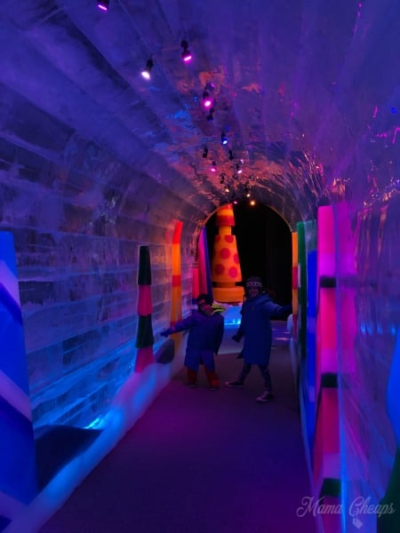 Ice Cave Gaylord Resort