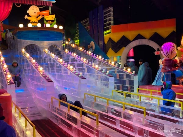 Ice Slide Gaylord Resort