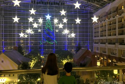 Kids Watching Atrium Gaylord National FEATURE