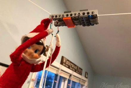 diy LEGO zipline