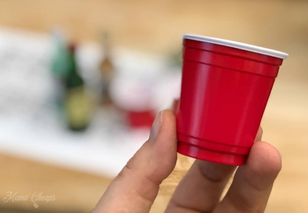 Mini Solo Cup Shot Glass