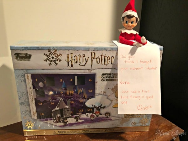Oboe Harry Potter Funko Advent Calendar