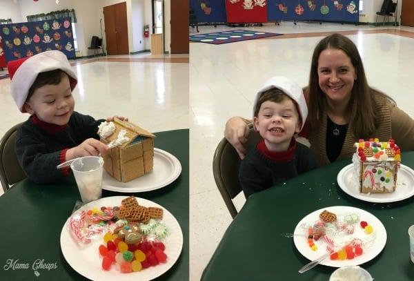 Preschool Gingerbread House