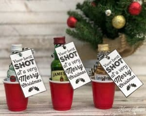 Shot Glass Christmas Gift