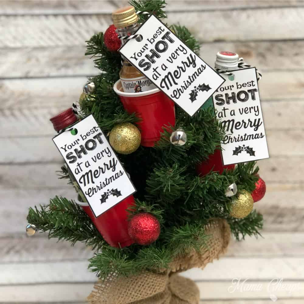 Shot Glass Christmas Tree