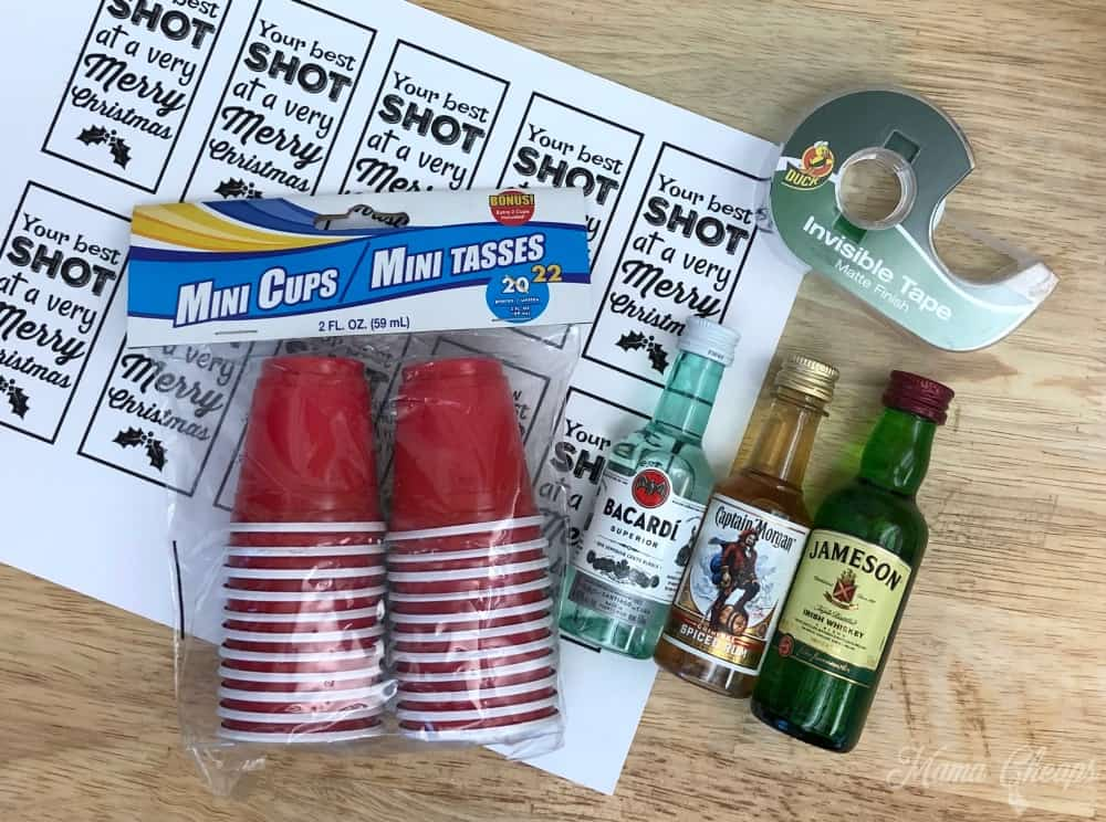 Shot Glass Gift Supplies