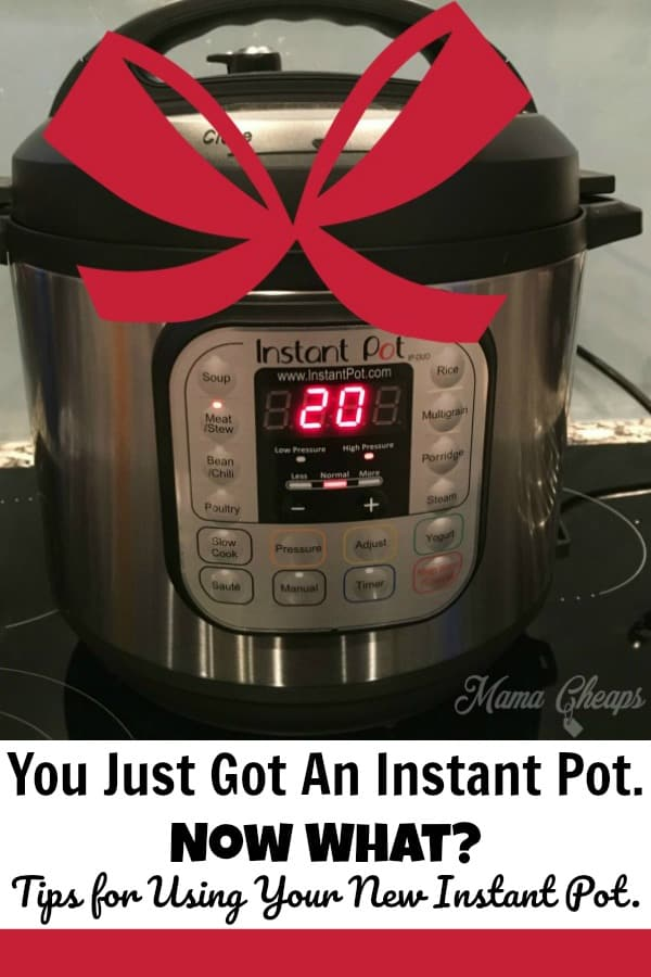 Tips for Using Your New Instant Pot