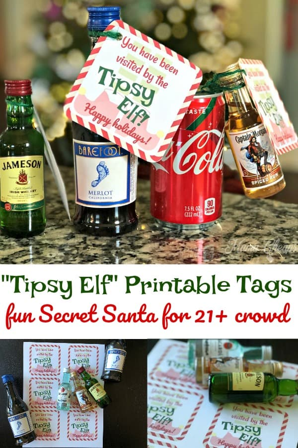 Tipsy Elf Adult Secret Santa