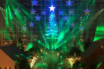 Wish Atrium Christmas Show Gaylord National