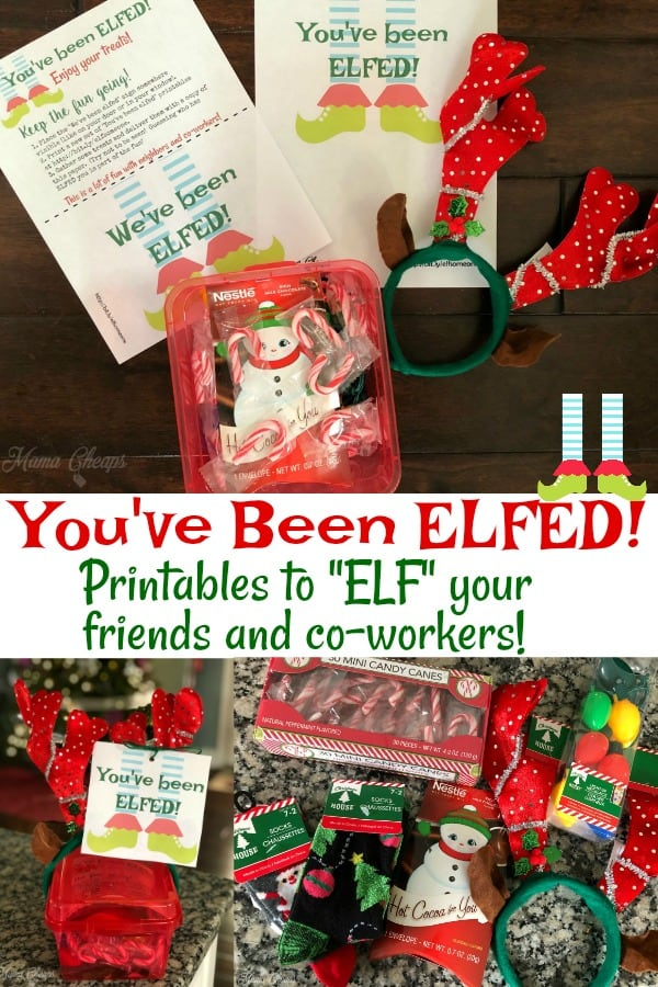 You've been elfed pin