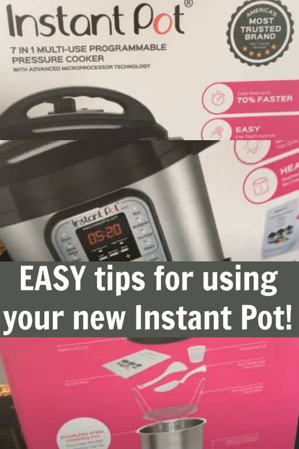 Instant Pot for Beginners 101