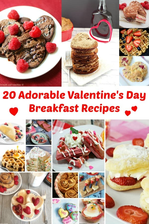 20 Adorable Valentine's Day Breakfast Recipes