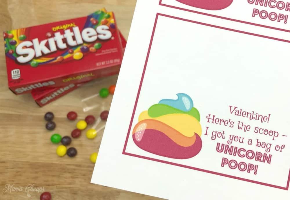Bag Skittles Valentine