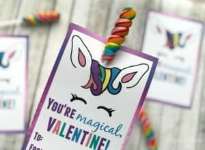 Cute Unicorn Valentines