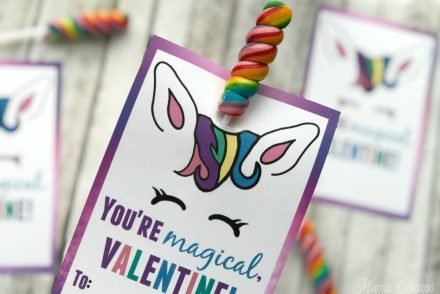 Cute Unicorn Valentines