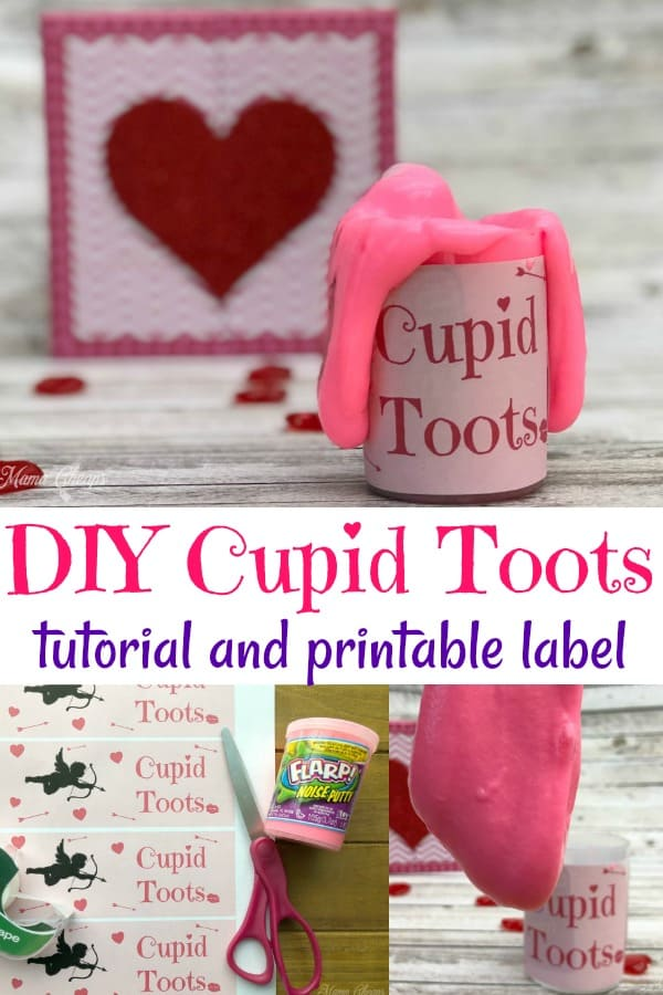 DIY Cupid Toots Gift