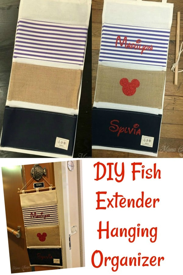 DIY Fish Extender Hanging Organizer
