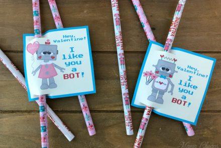 DIY Robot Valentines