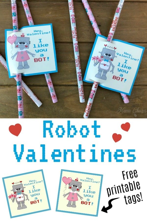 DIY Robot Valentines Idea