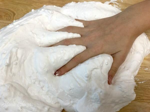 Fluffy Slime Shaving Cream
