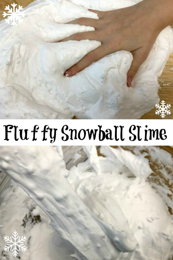 Fluffy Snowball Slime
